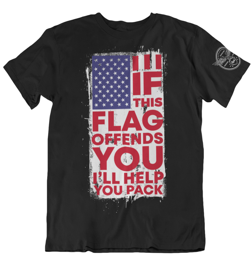 If This Flag Offends You T-Shirts-Uncle Judds