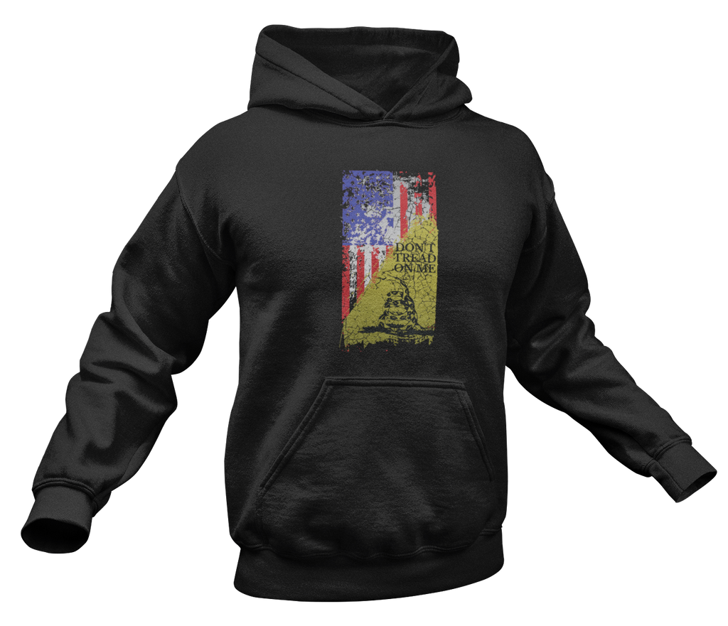 Don't Tread on Me Hoodie-Uncle Judds