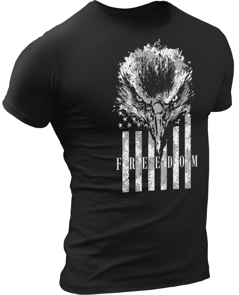 Freedom Eagle T-Shirt-Uncle Judds