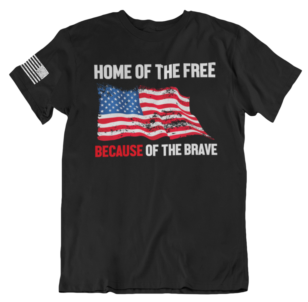 Home of the Brave T-Shirt-Uncle Judds