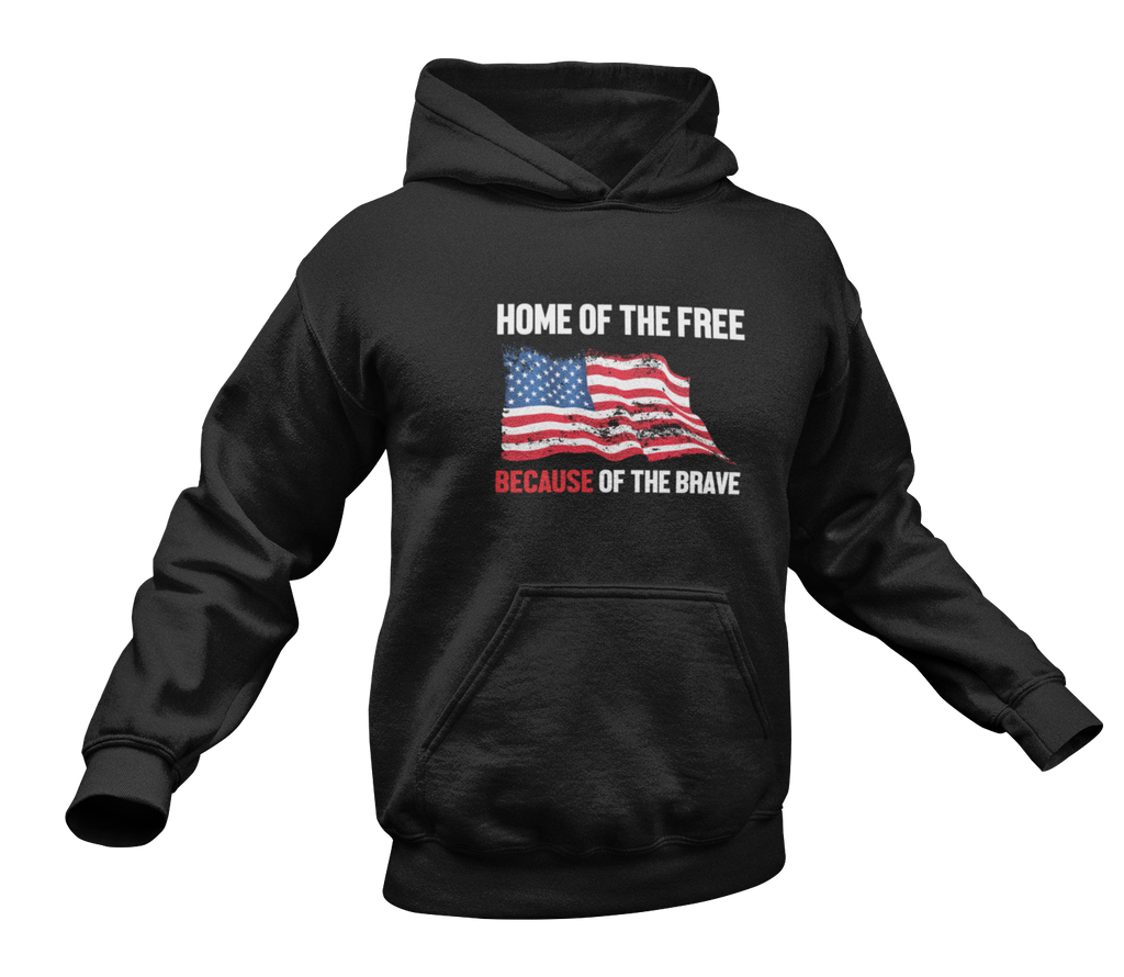 Home of the Brave Hoodie-Uncle Judds