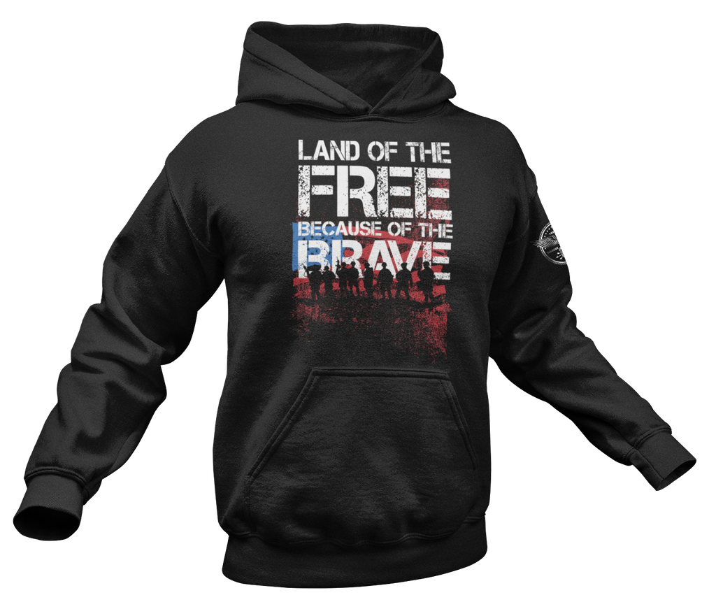 Land of the Free Hoodie-Uncle Judds