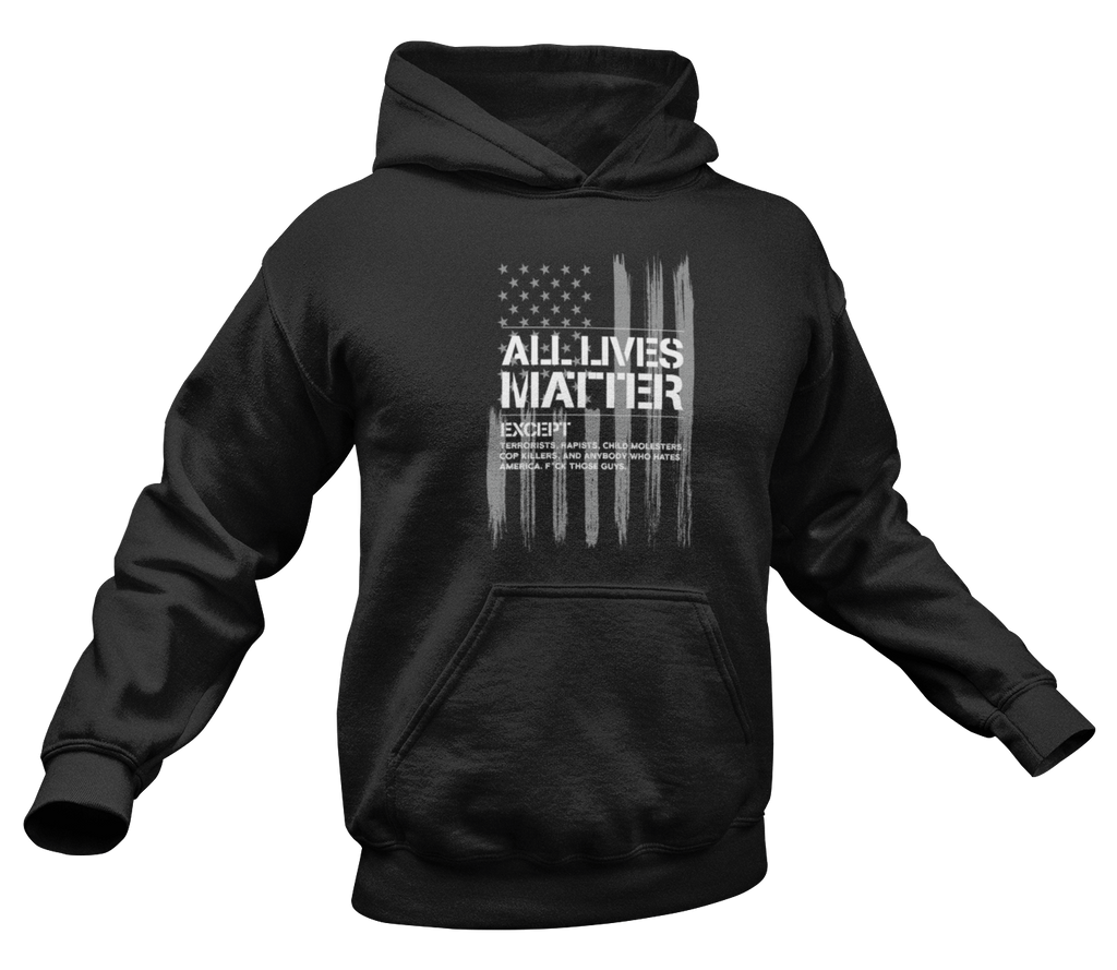 All Lives Matter Hoodie-Uncle Judds