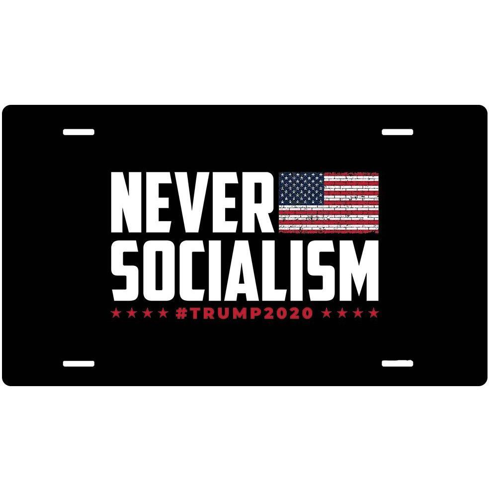 Never Socialism Sign (4x7)-Uncle Judds