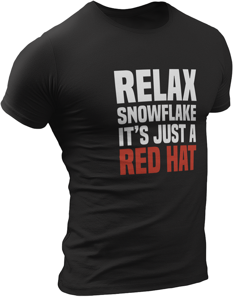 Relax Snowflake T-Shirt-Uncle Judds