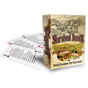 Survival Seeds Playing Cards-Uncle Judds