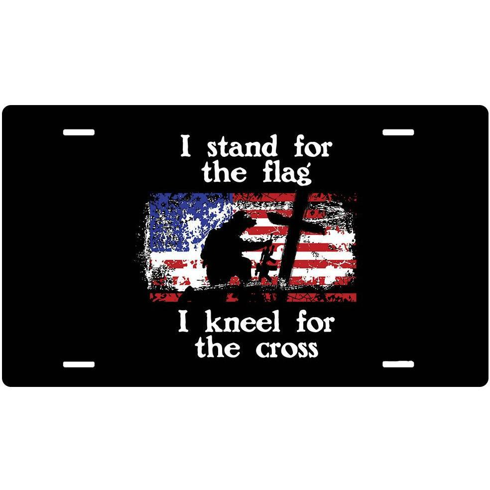 Stand For The Flag Sign (4x7)-Uncle Judds