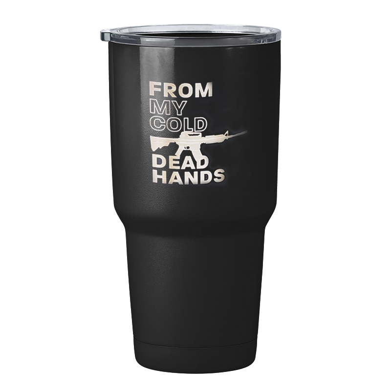 From My Cold Dead Hands 32oz Tumbler-Uncle Judds