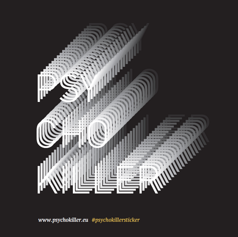 Psychokiller sticker