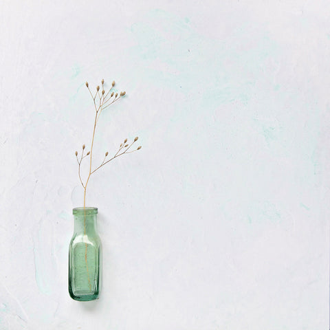 'Sea Foam' mint green & pale grey 40cm Photography Backdrop