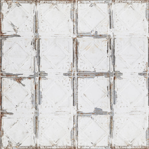 'Antique' tin tile effect 60cm Photography Backdrop