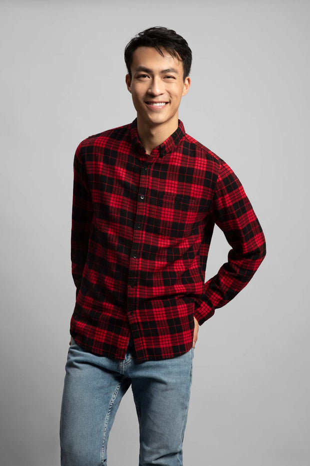 Black & Red Flannel