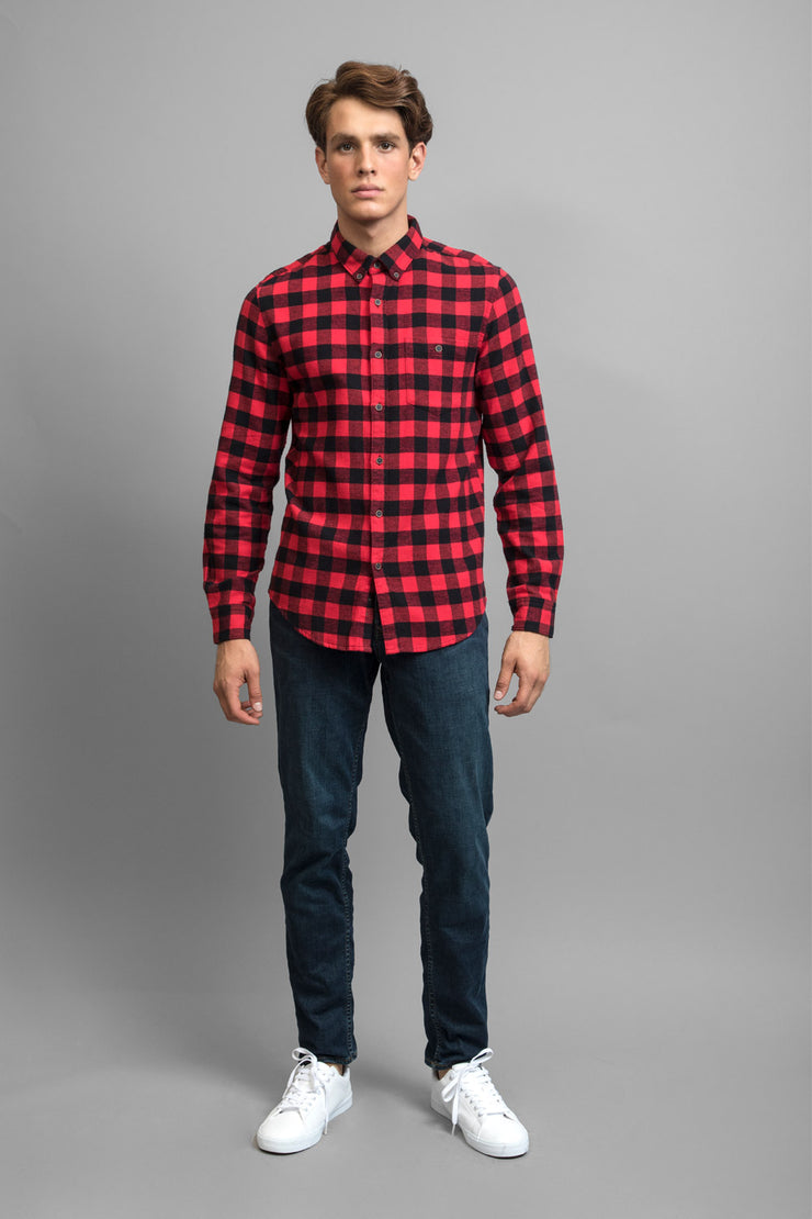 Red & Black Flannel