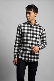 Black & White Flannel
