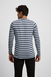 Lightweight Striped Long Sleeve Tee