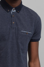 Jacquard Polo Shirt