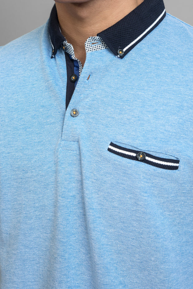 Sky Blue Polo Shirt