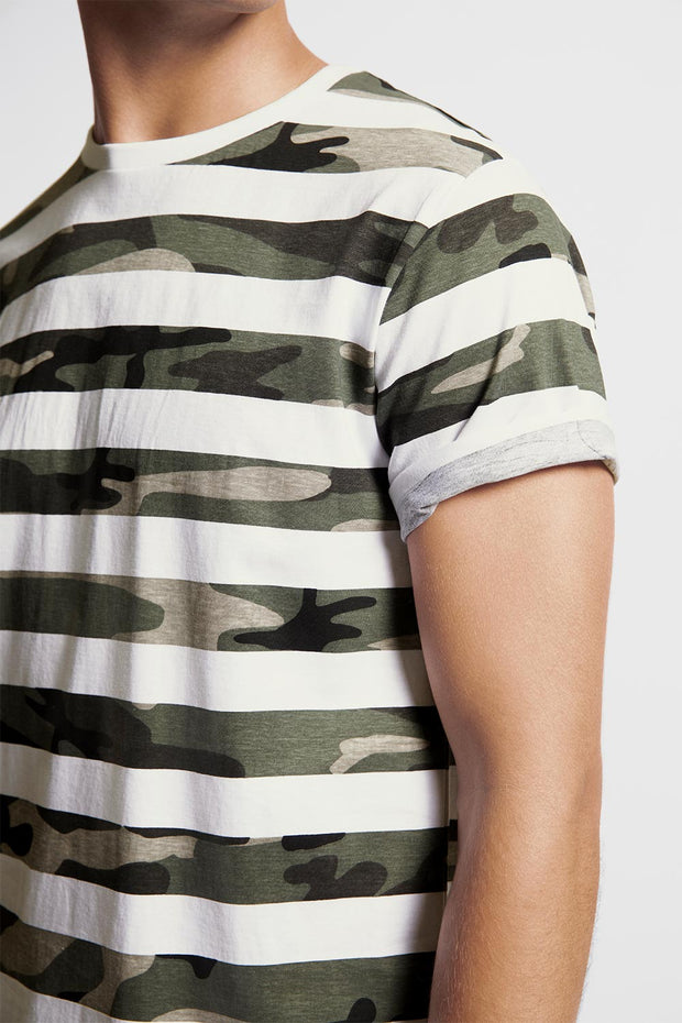 Camo Striped T-Shirt