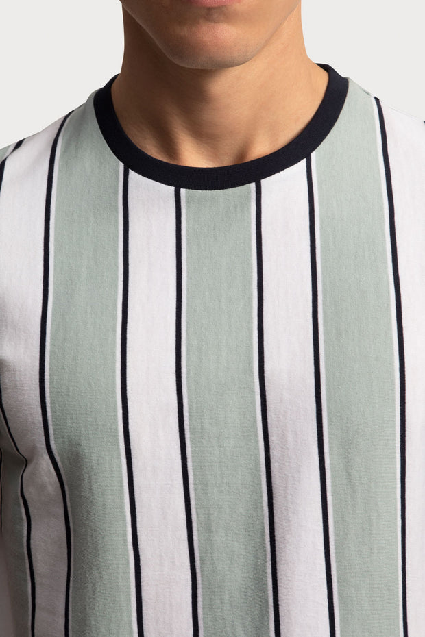 Mint Striped T-Shirt