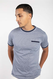Navy Monochrome T-Shirt