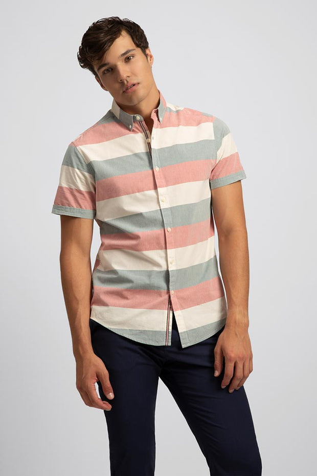 Retro Chunky Stripe Shirt