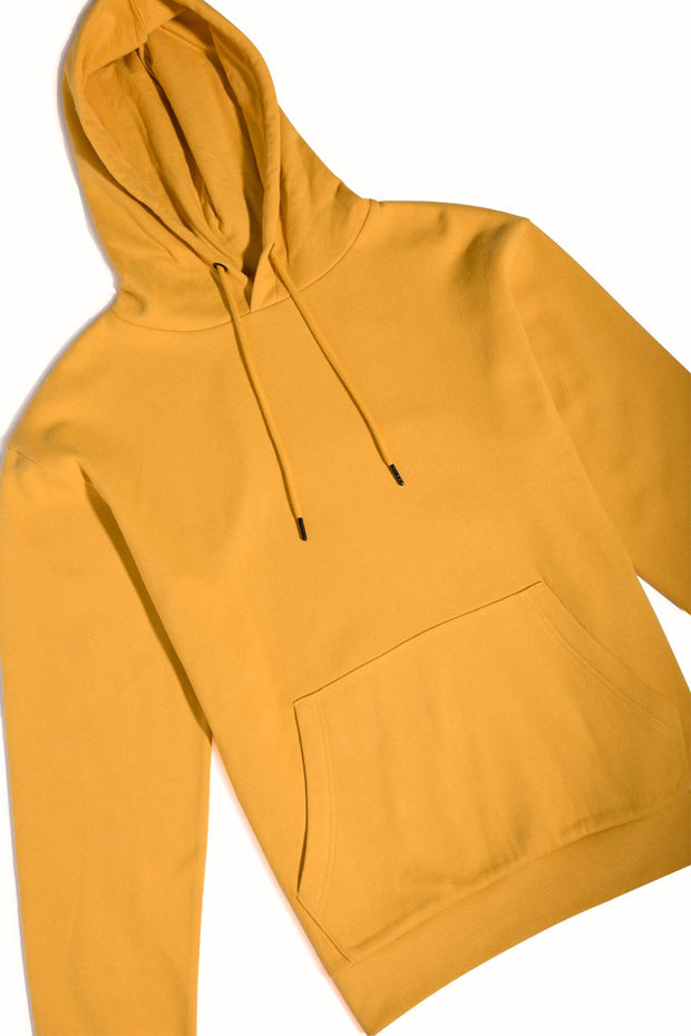 Orange Hooded Pullover