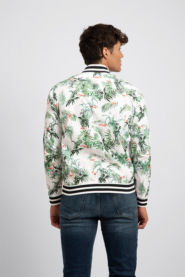 Flamingo Bomber Jacket