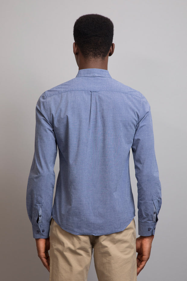 Grey Long Sleeve Warren Shirt