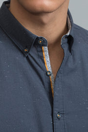 Indigo Chambray Shirt