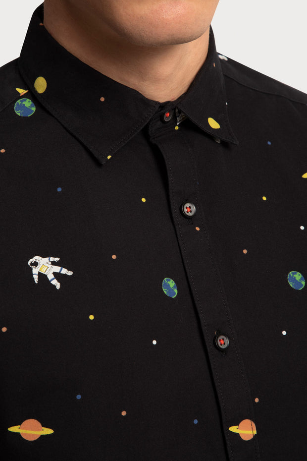 Outer Space Printed Shirt