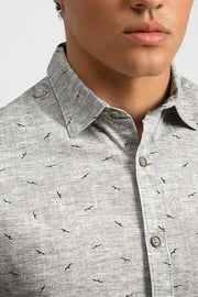 Heather Grey W/ Soaring Birds Shirt