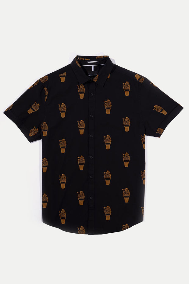 Black & Gold Ice Cream Shirt