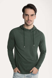 Green Hoody T-Shirt