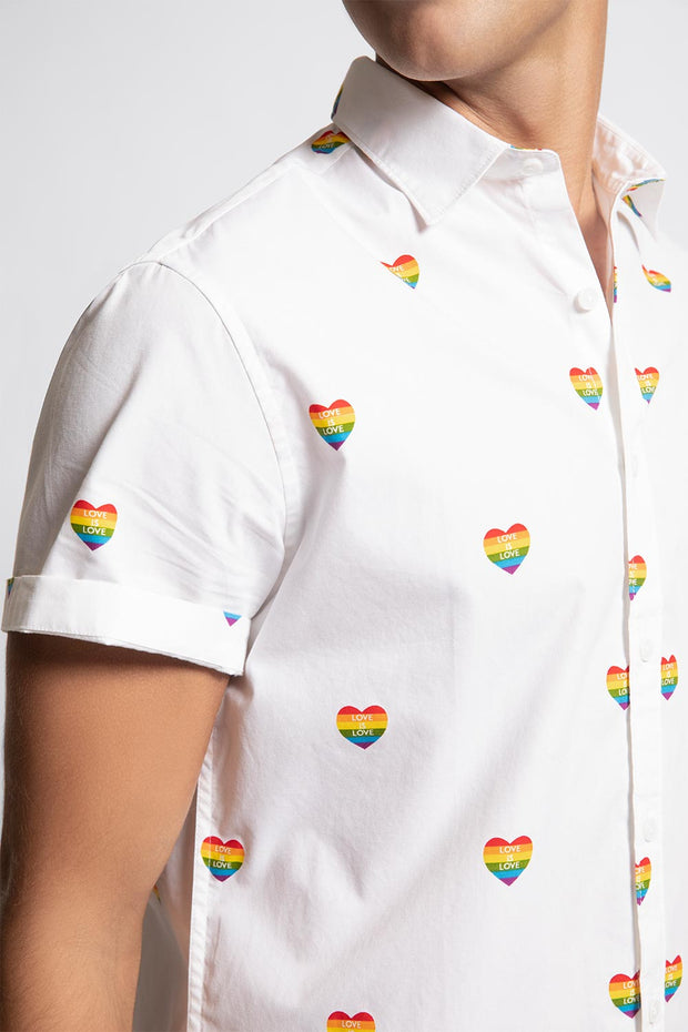 Love is Love Rainbow Heart Shirt
