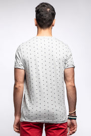 Sailboat Print T-Shirt