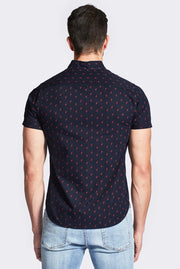 Flamingo Navy Shirt