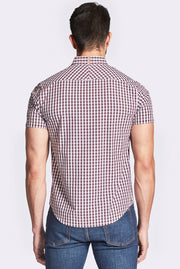 Yarn Dyed Checked Shirt