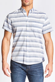 Shady Blue Striped Shirt