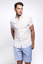 Fun Print Short Sleeve Shirt
