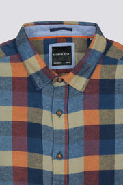 Orange & Blue Flannel