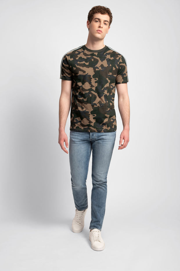 Camouflage Print T-Shirt