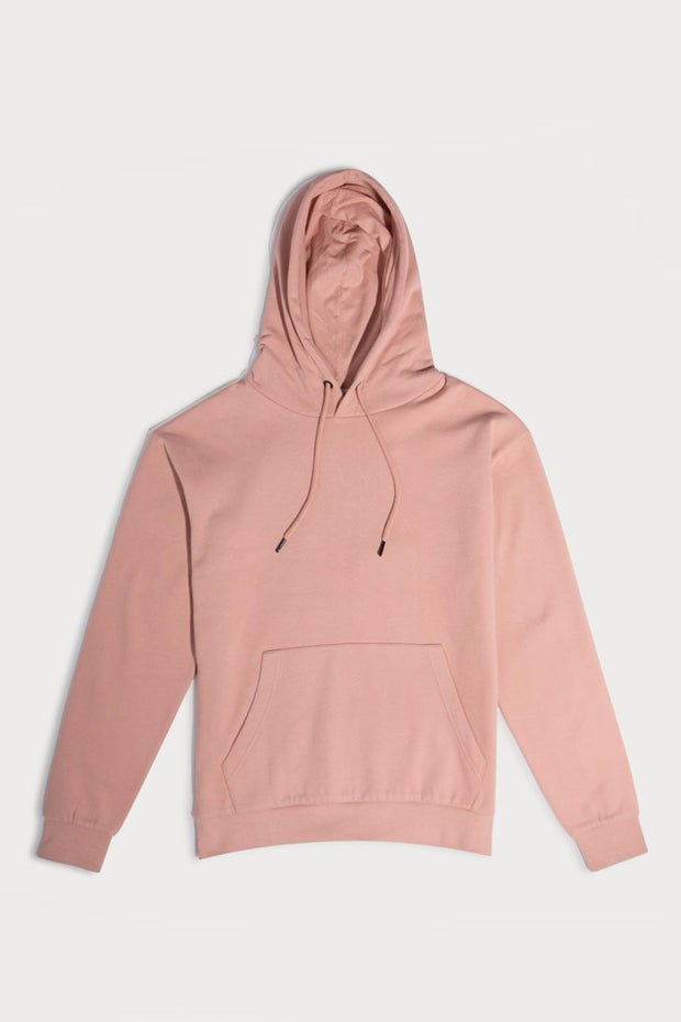 Mauve Hooded Pullover