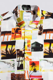 Collage Palm Tree Shirt