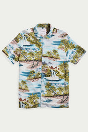 Hawaiian Waterfall Viscose Shirt