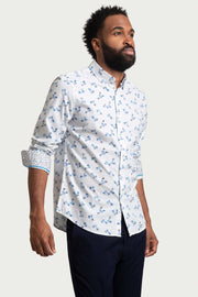 All-Over Floral Print Shirt
