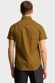 Ochre Oxford Shirt