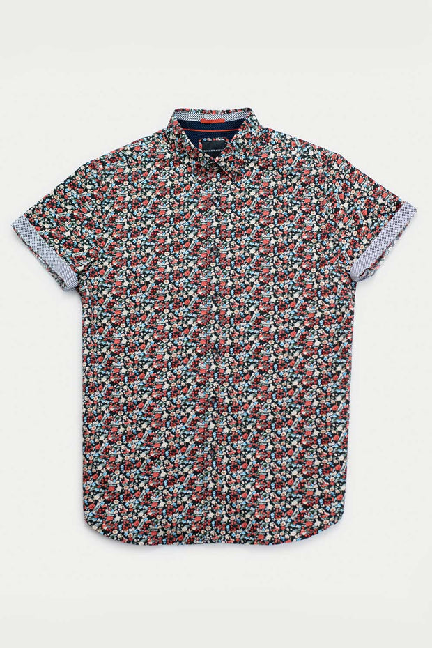 Mini Floral Printed Shirt