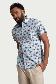 Floral Tropical Cotton Shirt