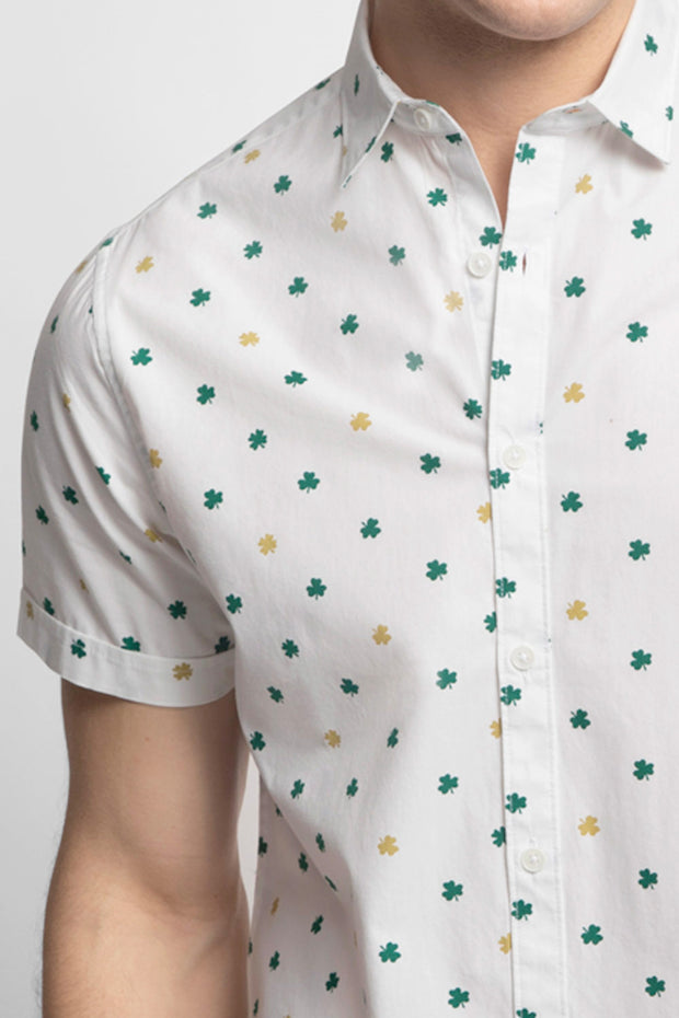 Gold & Green Shamrock Shirt