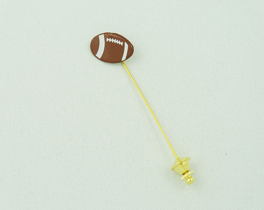 Lapel Pin - Football P The Styled Man Box The Styled Man Box - The Styled Man Box